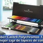 Faber-Castell Polychromos 120 la mejor caja de lápices de colores